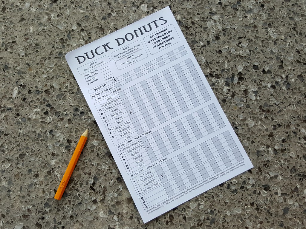 duck donuts order form pdf