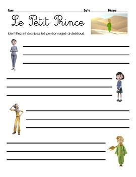 the little prince story pdf
