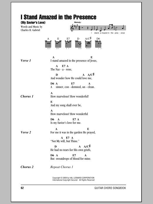 i stand redeemed guitar chord pdf