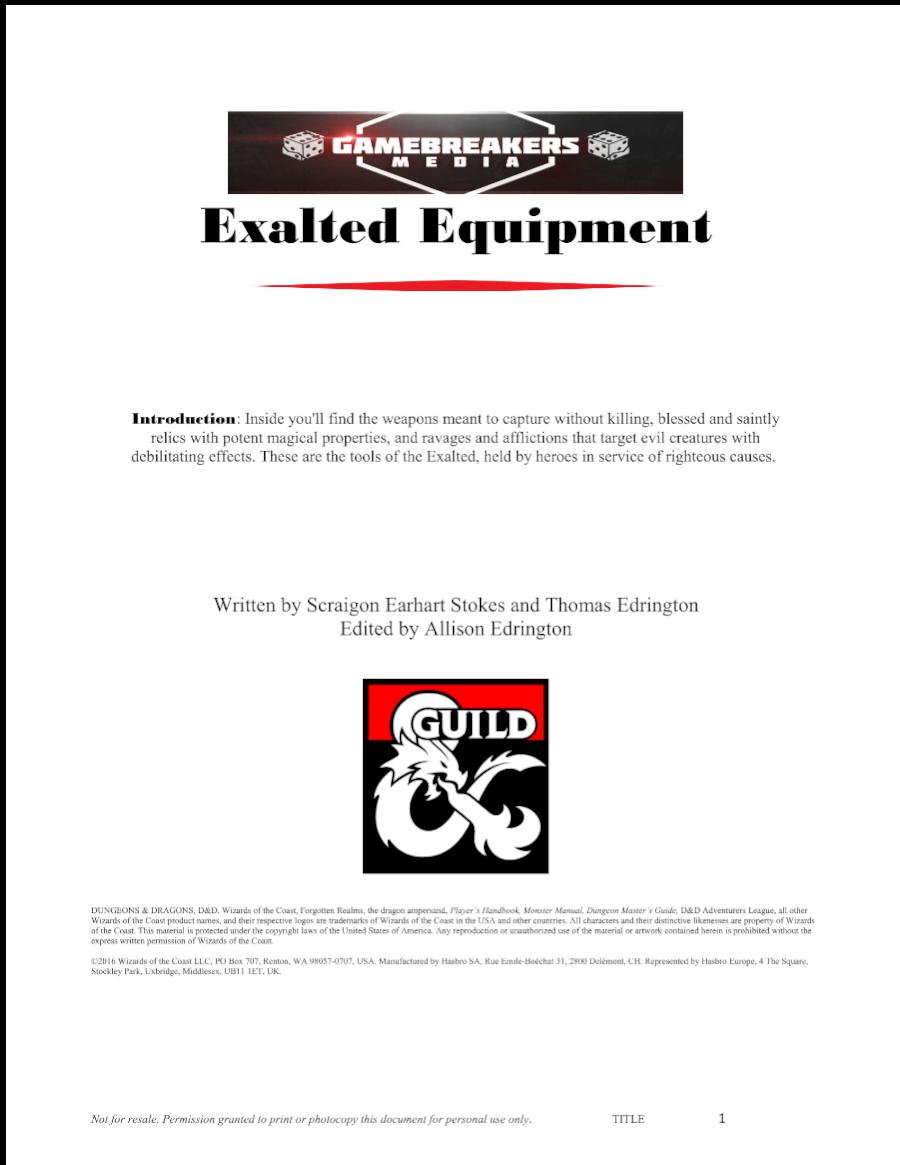 book of exalted deeds 3.5 pdf