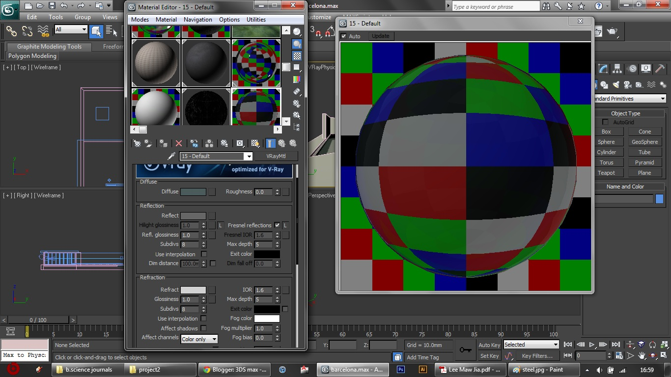3ds max vray material setting pdf