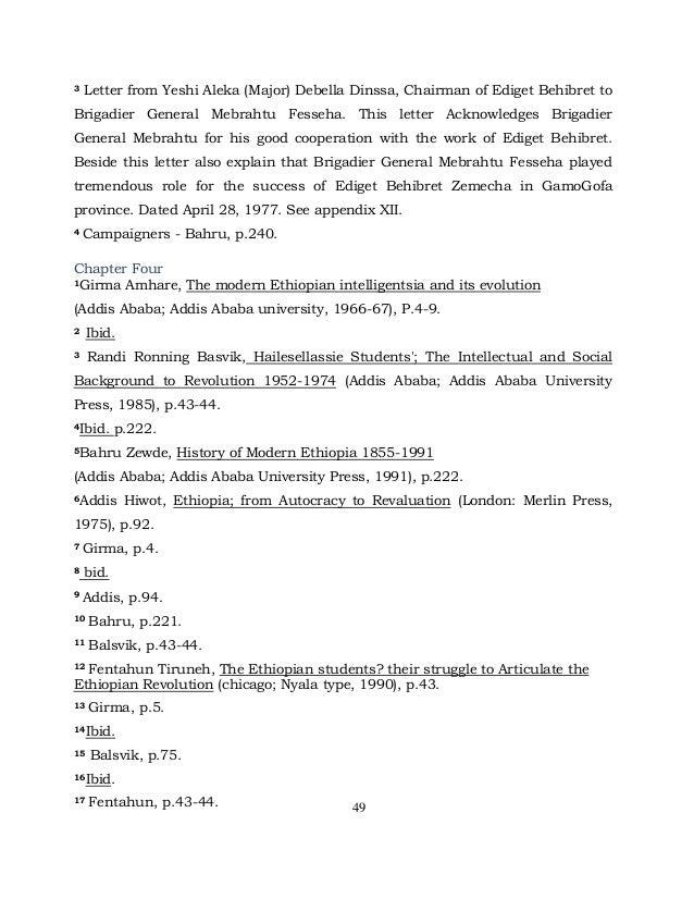 bahru zewde a history of modern ethiopia pdf