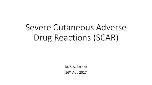 cutaneous adverse drug reactions pdf