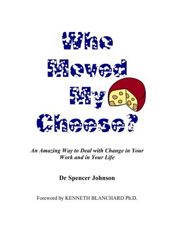 who moved my cheese hindi pdf free download