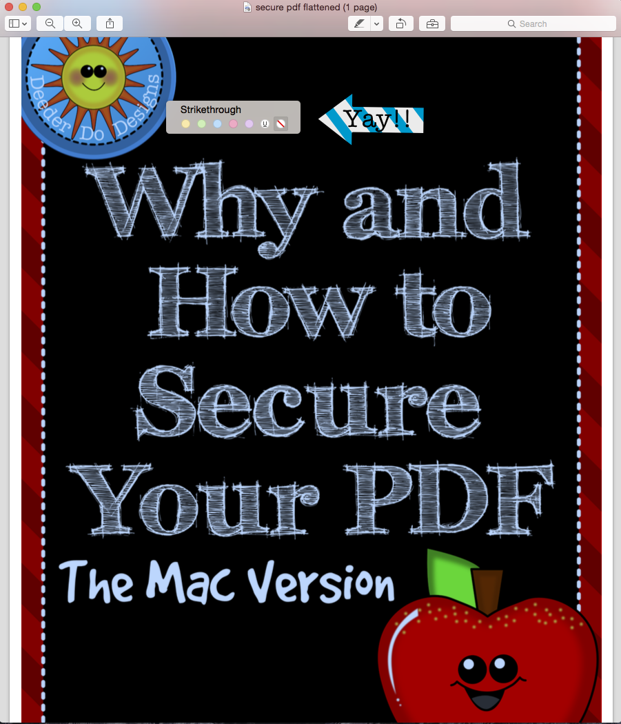 why no pdf on mac
