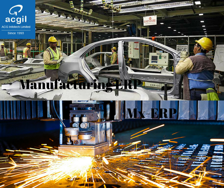 erp in manufacturing industry pdf