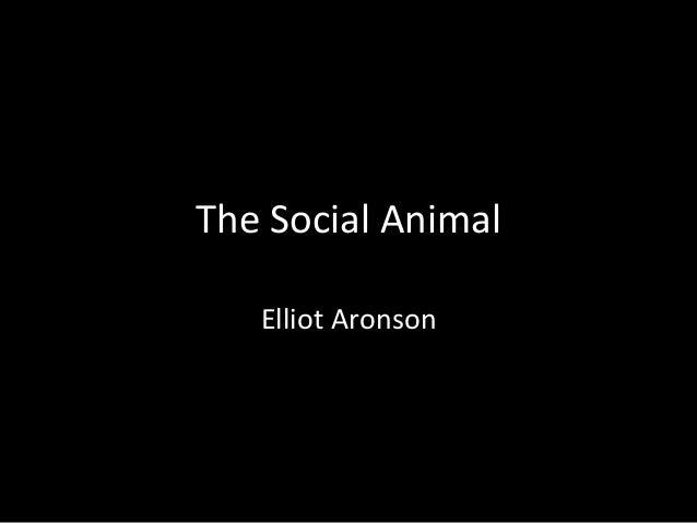 the social animal elliot aronson pdf download