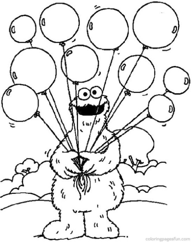 sesame street coloring pages pdf