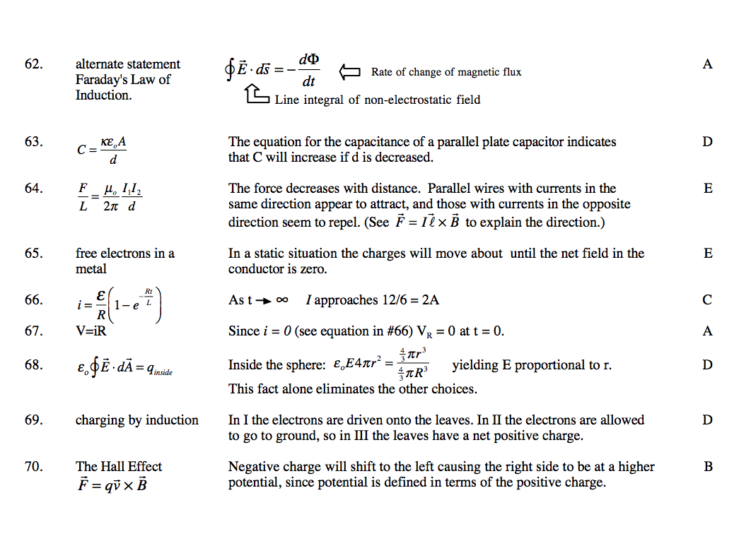 electricity and magnetism multiple choice questions with answers pdf
