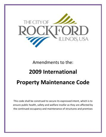international property maintenance code 2012 pdf