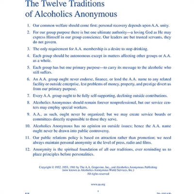 al anon 12 steps and trditions pdf