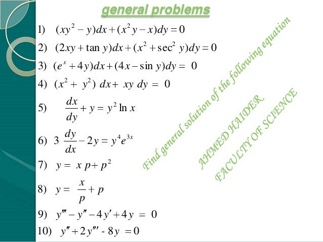 homogeneous partial differential equation examples pdf