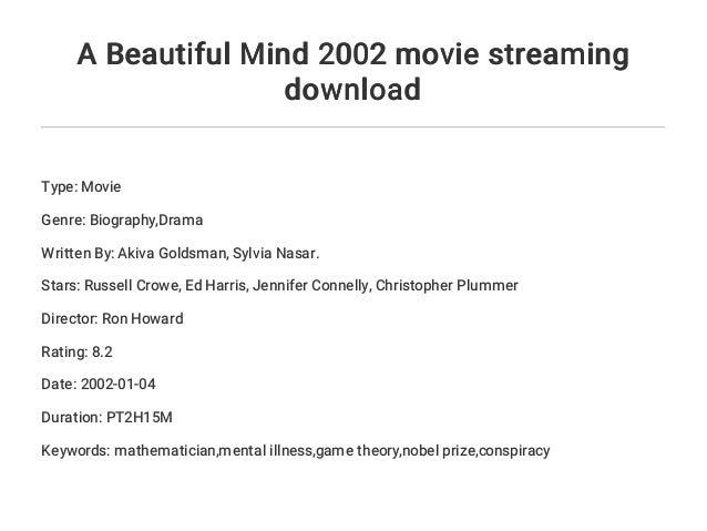 a beautiful mind by sylvia nasar pdf free download