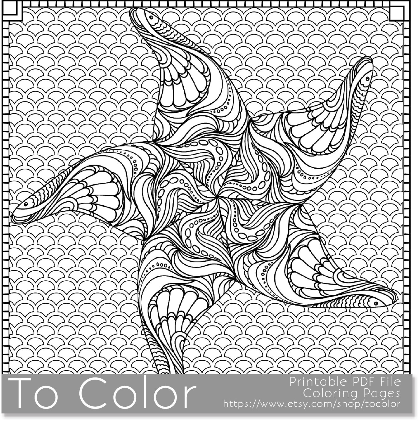 coloring pages for adults pdf