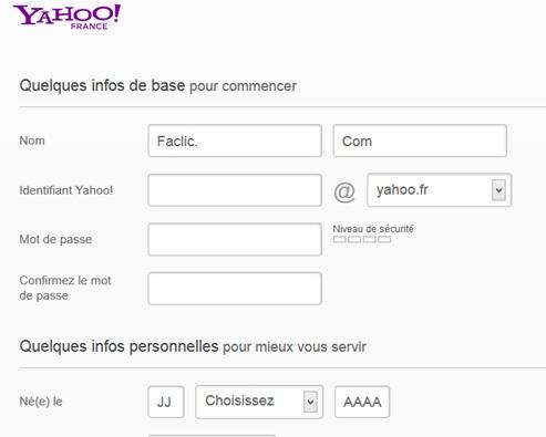 comment creer un email sur yahoo pdf