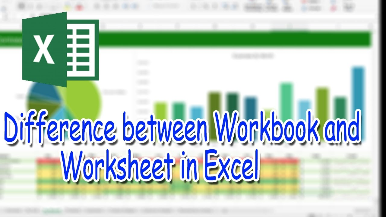 difference between workbook and worksheet pdf