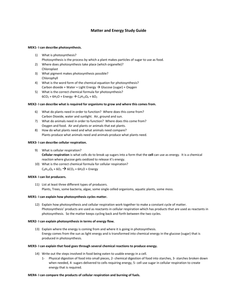 cellular respiration and photosynthesis worksheet pdf
