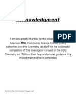 class 12 chemistry project on casein in milk pdf
