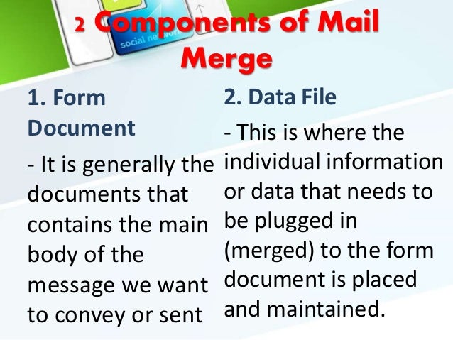 mail merge to separate pdf files