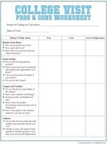 pros and cons worksheet pdf