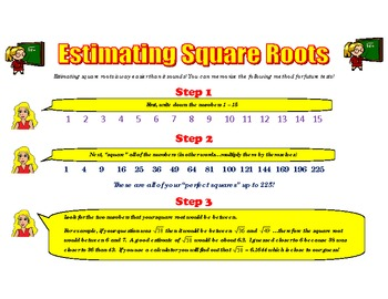square and square root explained simply filetype pdf