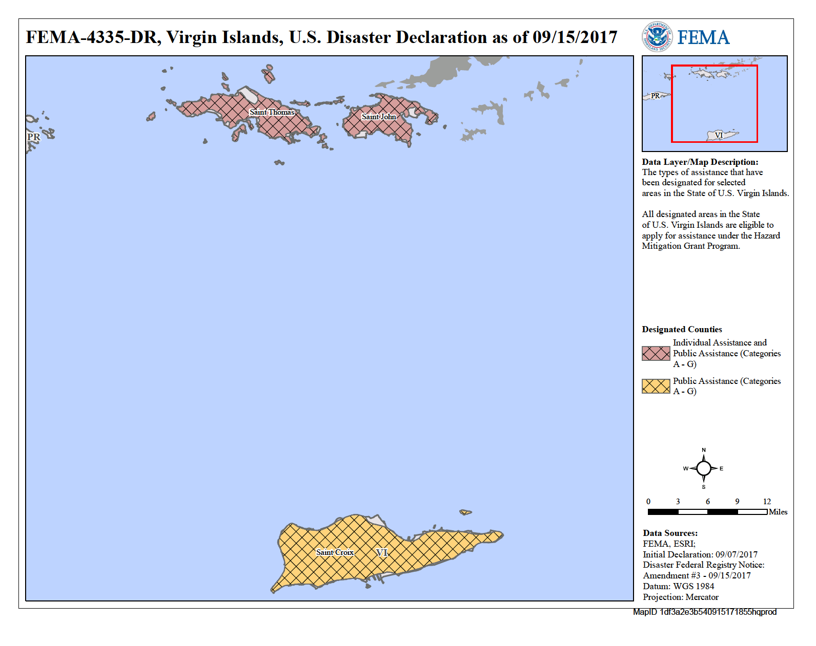 st thomas virgin islands map pdf