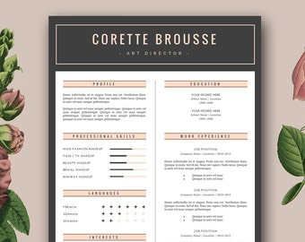 stylish template for cover letter pdf download